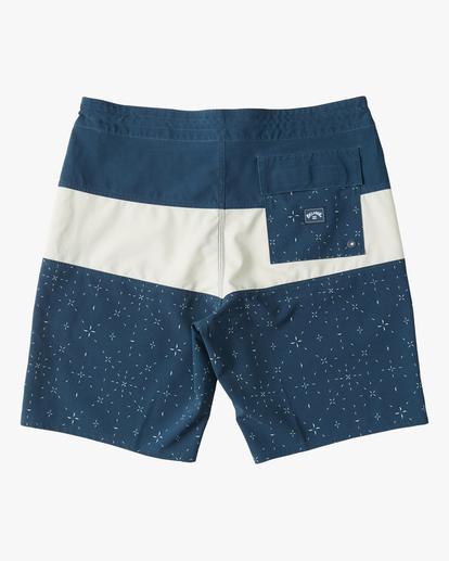 "1 Tribong Lo Tide Boardshorts 19"" Blue ABYBS00127 Billabong"