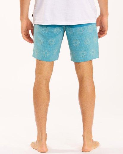 "7 Tribong Lo Tides Boardshorts 19"" Orange ABYBS00127 Billabong"