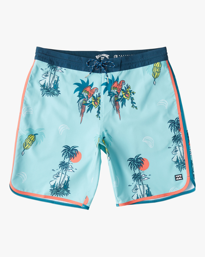 "0 73 Lo Tide Boardshorts 19"" Blue ABYBS00128 Billabong"