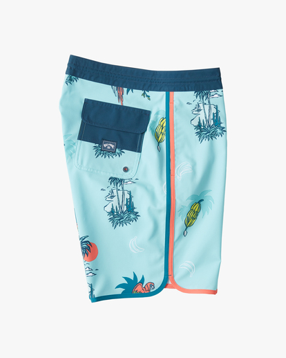 "3 73 Lo Tide Boardshorts 19"" Blue ABYBS00128 Billabong"