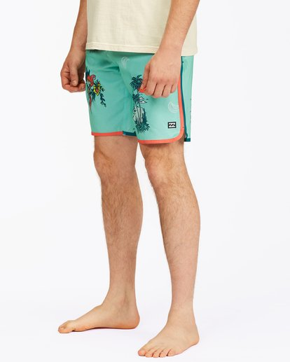 "5 73 Lo Tide Boardshorts 19"" Blue ABYBS00128 Billabong"