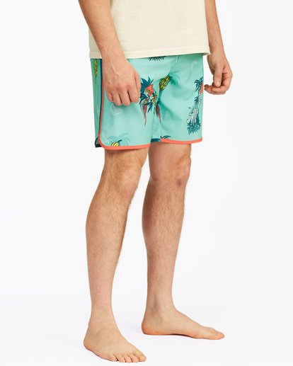 "6 73 Lo Tide Boardshorts 19"" Blue ABYBS00128 Billabong"