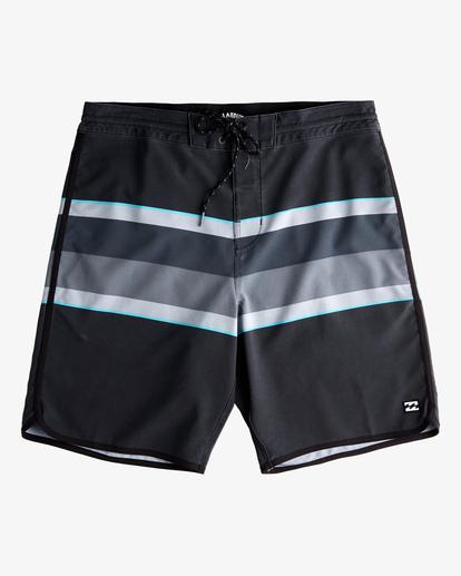 "0 73 Spinner Lo Tides Boardshorts 19"" Black ABYBS00129 Billabong"