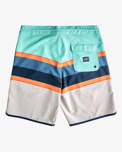 "1 73 Spinner Lo Tides Boardshorts 19"" Grey ABYBS00129 Billabong"