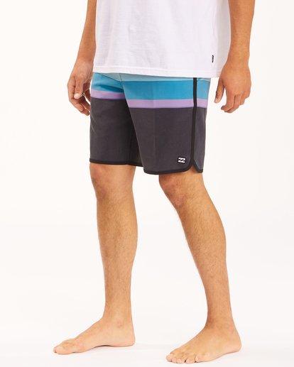 "5 73 Spinner Lo Tides Boardshorts 19"" Blue ABYBS00129 Billabong"
