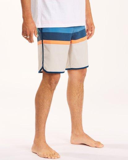 "4 73 Spinner Lo Tides Boardshorts 19"" Grey ABYBS00129 Billabong"