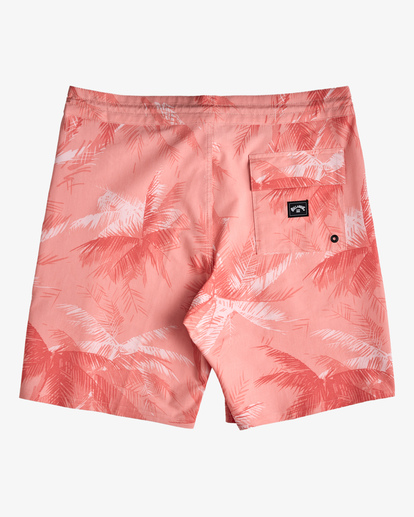 """1 All Day Lo Tides Boardshorts 17"""" White ABYBS00130 Billabong"""