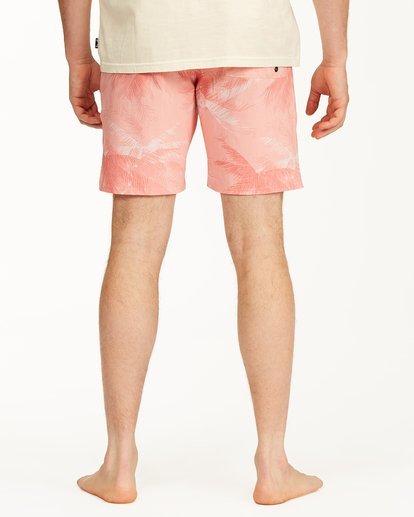 """5 All Day Lo Tides Boardshorts 17"""" White ABYBS00130 Billabong"""