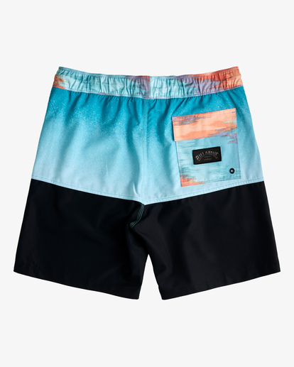 "1 Fifty50 Layback Boardshorts 17"" Blue ABYBS00132 Billabong"