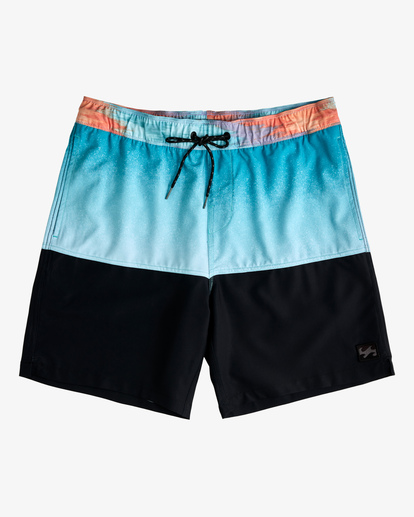 "0 Fifty50 Layback Boardshorts 17"" Blue ABYBS00132 Billabong"