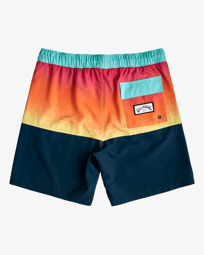 """1 Fifty50 Layback Boardshorts 17"""" Red ABYBS00132 Billabong"""