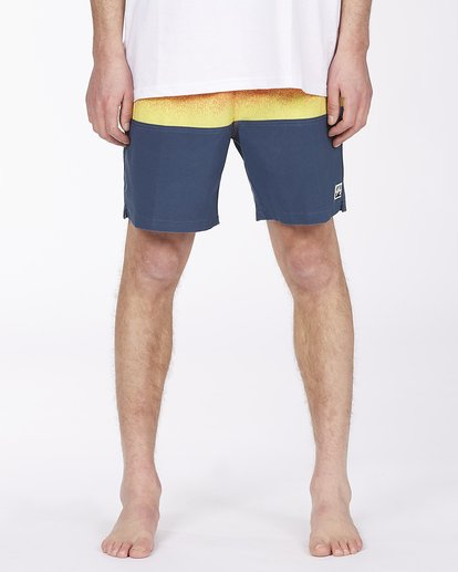 """2 Fifty50 Layback Boardshorts 17"""" Red ABYBS00132 Billabong"""