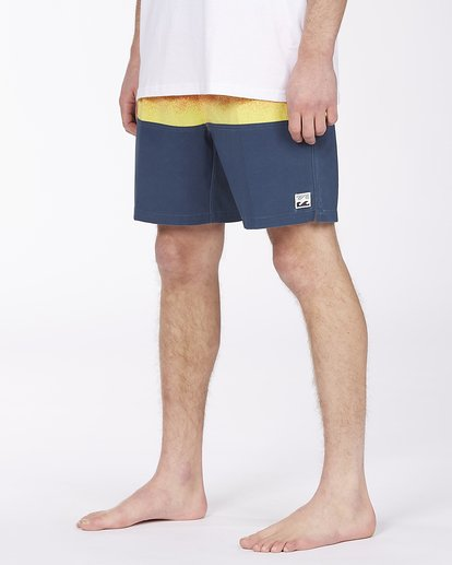 """3 Fifty50 Layback Boardshorts 17"""" Red ABYBS00132 Billabong"""