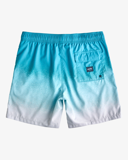 """1 All Day Fade Layback Boardshort 17"""" Blue ABYBS00133 Billabong"""