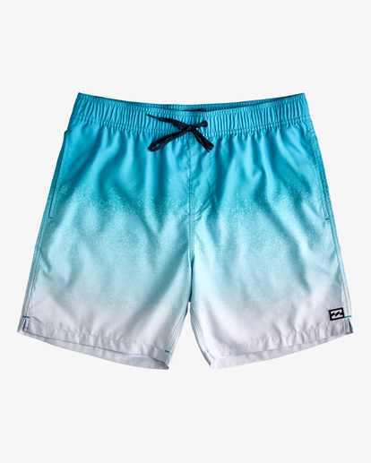 """0 All Day Fade Layback Boardshort 17"""" Blue ABYBS00133 Billabong"""