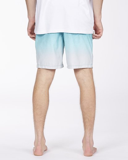 """5 All Day Fade Layback Boardshort 17"""" Blue ABYBS00133 Billabong"""