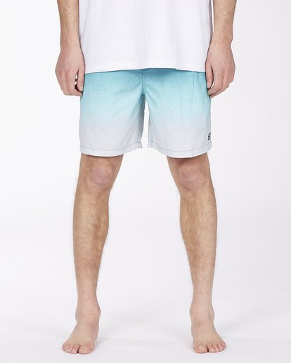 """2 All Day Fade Layback Boardshort 17"""" Blue ABYBS00133 Billabong"""