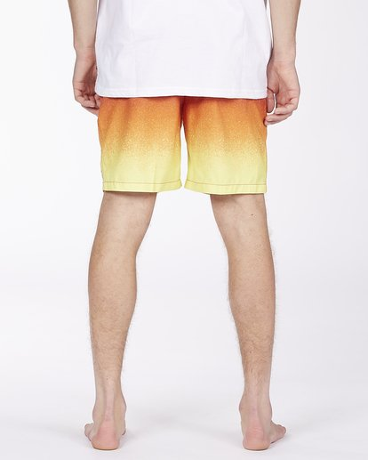 """5 All Day Fade Layback Boardshorts 17"""" Red ABYBS00133 Billabong"""