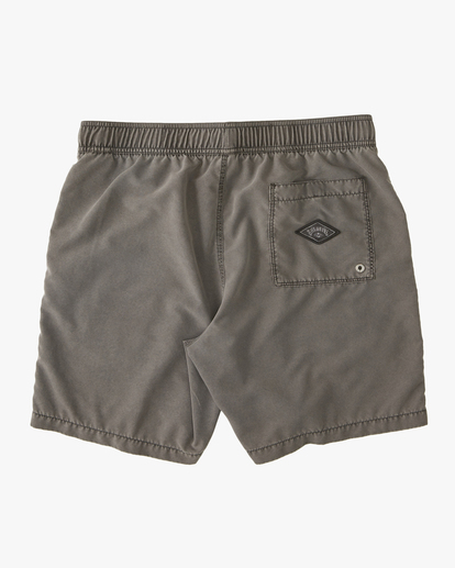 "1 All Day Overdyed Layback Boardshorts 17"" Black ABYBS00134 Billabong"