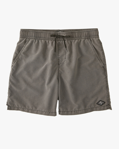 "0 All Day Overdyed Layback Boardshorts 17"" Black ABYBS00134 Billabong"