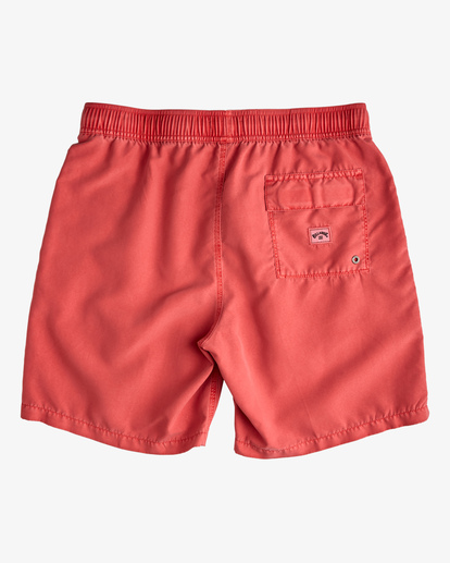 "1 All Day Overdyed Layback Boardshorts 17"" Orange ABYBS00134 Billabong"