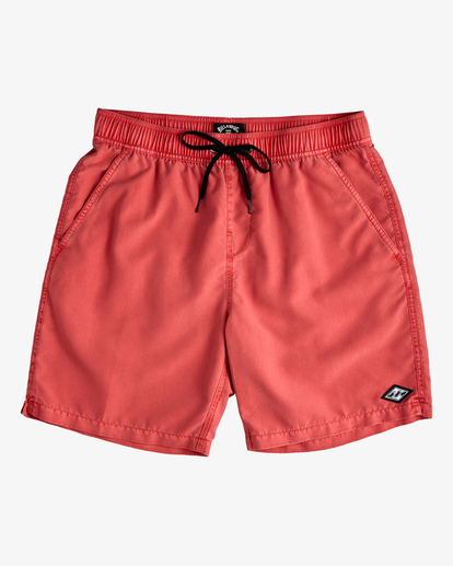 "0 All Day Overdyed Layback Boardshorts 17"" Orange ABYBS00134 Billabong"