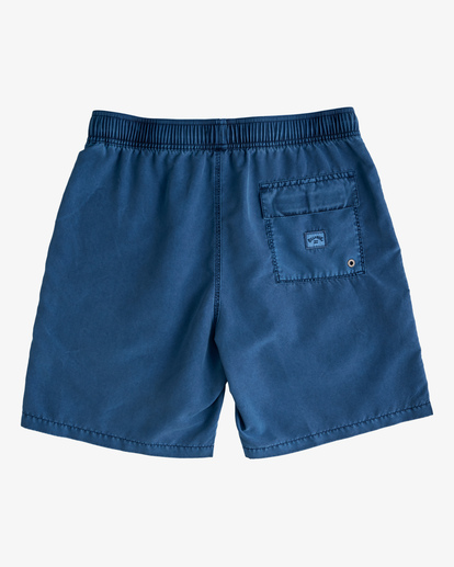 """1 All Day Overdyed Layback Boardshorts 17"""" Brown ABYBS00134 Billabong"""