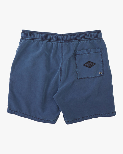 """1 All Day Overdyed Layback Boardshorts 17"""" Blue ABYBS00134 Billabong"""