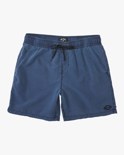"""0 All Day Overdyed Layback Boardshorts 17"""" Blue ABYBS00134 Billabong"""