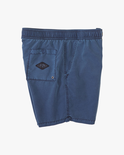 """2 All Day Overdyed Layback Boardshorts 17"""" Blue ABYBS00134 Billabong"""