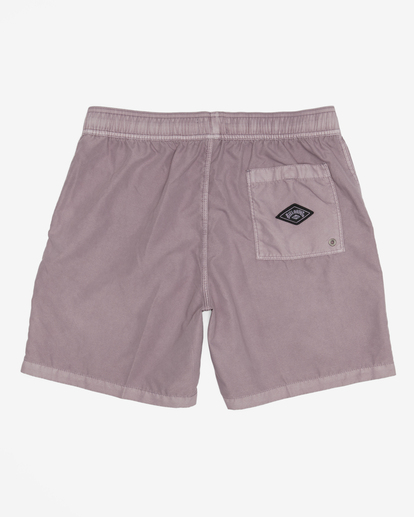 """1 All Day Overdyed Layback Boardshorts 17"""" Purple ABYBS00134 Billabong"""
