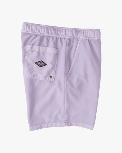 """2 All Day Overdyed Layback Boardshorts 17"""" Purple ABYBS00134 Billabong"""