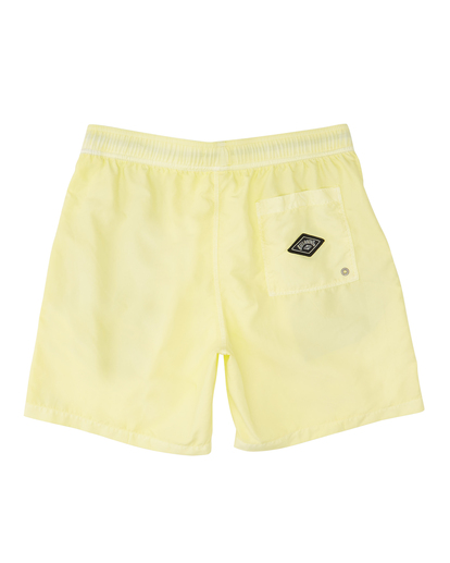 """1 All Day Overdyed Layback Boardshorts 17"""" Yellow ABYBS00134 Billabong"""