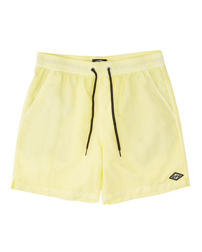 """0 All Day Overdyed Layback Boardshorts 17"""" Yellow ABYBS00134 Billabong"""