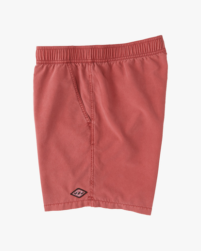 """3 All Day Overdyed Layback Boardshorts 17"""" Green ABYBS00134 Billabong"""
