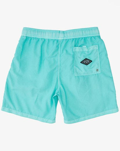 """1 All Day Overdyed Layback Boardshorts 17"""" Grey ABYBS00134 Billabong"""