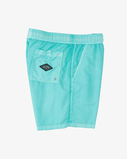 """2 All Day Overdyed Layback Boardshorts 17"""" Grey ABYBS00134 Billabong"""