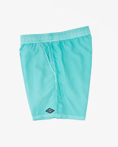 """3 All Day Overdyed Layback Boardshorts 17"""" Grey ABYBS00134 Billabong"""