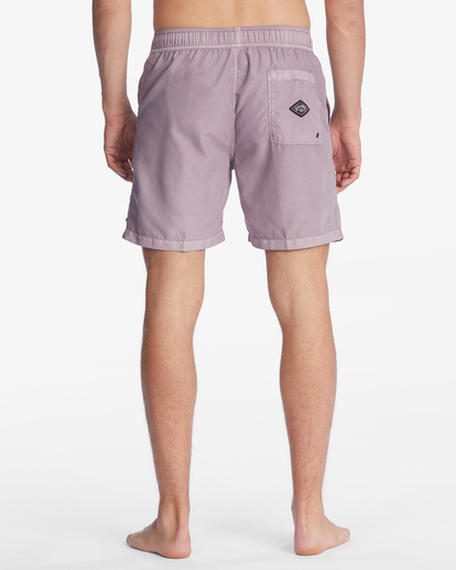 """7 All Day Overdyed Layback Boardshorts 17"""" Purple ABYBS00134 Billabong"""