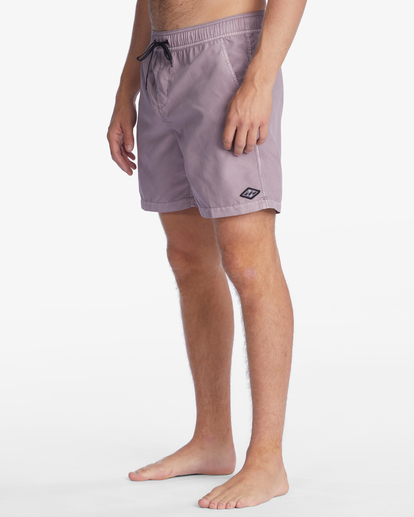 """5 All Day Overdyed Layback Boardshorts 17"""" Purple ABYBS00134 Billabong"""