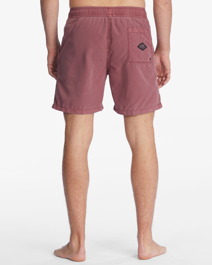 """7 All Day Overdyed Layback Boardshorts 17"""" Green ABYBS00134 Billabong"""