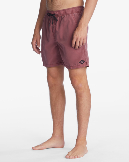 """5 All Day Overdyed Layback Boardshorts 17"""" Green ABYBS00134 Billabong"""