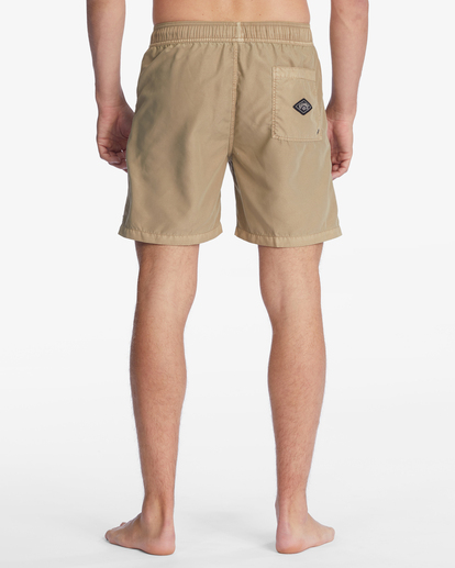 """5 All Day Overdyed Layback Boardshorts 17"""" Brown ABYBS00134 Billabong"""