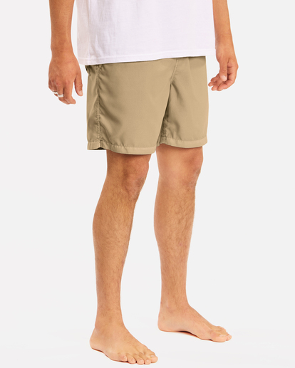 """4 All Day Overdyed Layback Boardshorts 17"""" Brown ABYBS00134 Billabong"""
