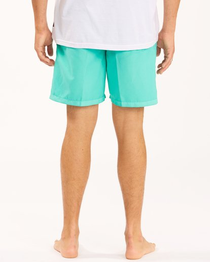 """7 All Day Overdyed Layback Boardshorts 17"""" Grey ABYBS00134 Billabong"""