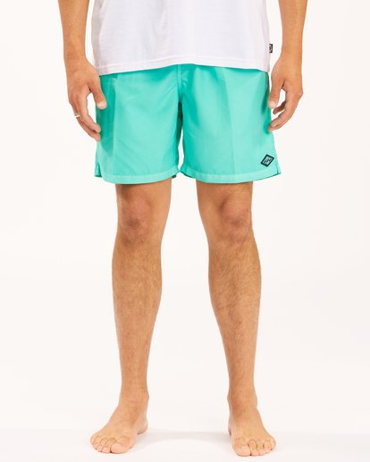 """4 All Day Overdyed Layback Boardshorts 17"""" Grey ABYBS00134 Billabong"""
