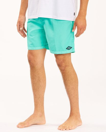 """5 All Day Overdyed Layback Boardshorts 17"""" Grey ABYBS00134 Billabong"""
