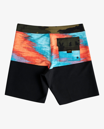 """1 Fifty50 Panel Pro Boardshorts 19"""" Red ABYBS00136 Billabong"""