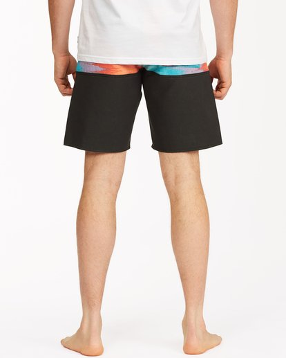 """5 Fifty50 Panel Pro Boardshorts 19"""" Red ABYBS00136 Billabong"""
