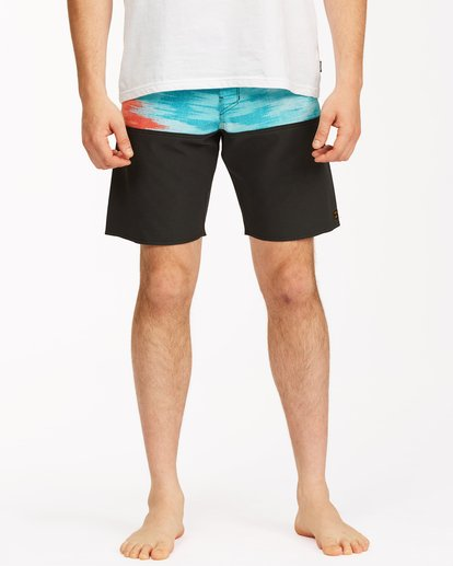 """2 Fifty50 Panel Pro Boardshorts 19"""" Red ABYBS00136 Billabong"""